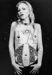 Tattooed Woman Poster - 4