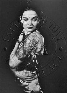 Tattooed Woman Poster - 5
