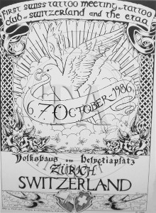 1986 Swiss Convention Poster