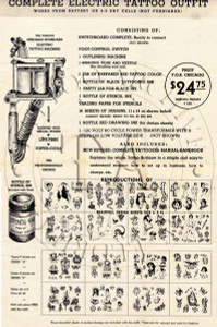 Chicago Tattoo Supply House Flyer