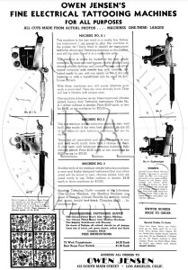 Owen Jensen Machine Flyer