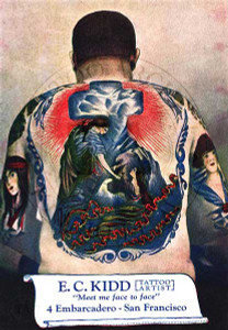 Joe Lieber & E.C. Kidd Back Piece