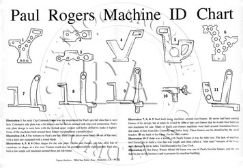Paul Rogers Machine ID Chart