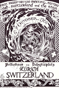 1986 Swiss Convention Poster - 2