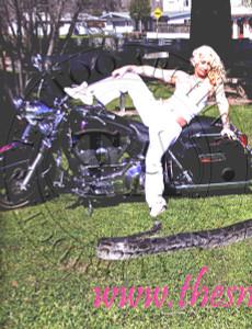 Snake Lady Calendar