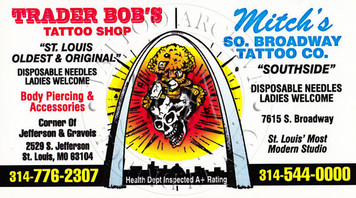 Mitch Mitchell Business Card