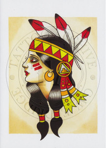 Ben Stone Native American Greeting Card