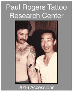 2016 Paul Rogers Tattoo Research Center Accession Book