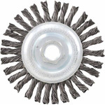 "4-1/2x.020x5/8-11"" Twisted Wheel Brush"