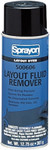 Layout Remover/Cleaner Aerosol Spray 12/cs