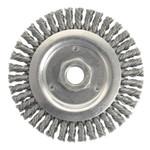 "4x.020x5/8-11"" SS Stringer Bead Wheel"
