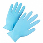 Lg Powdered Nitrile Examination Glove 100/box 10bxs/cs