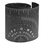 "4x72"" Black Pipe Wrap-a-Round for 6-9"" Pipe"
