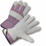 Split Leather Work Glove W/Synthetic Wool Lining 1dz