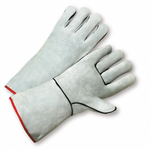 "Large 13"" Gray General Purpose Welding Glove 1dz"