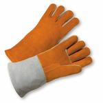 """Large 14"""" Russet Kevlar Stitched Welding Glove 1dz"""
