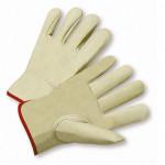 Small Full Grain Leather Calf Driver W/Keystone Thumb 1dz