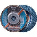 "5""x5/8-11 Polifan Blending Disc 40 grit Zirc (box of 10)"