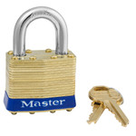 1-9/16th Brass Laminated Lock (all keyed alike - 0455)
