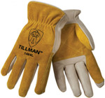 Tillman Grain Cowhide Drivers Gloves - XL