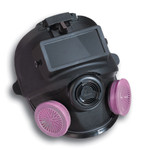 Full Face Respirator With Welding Attachment