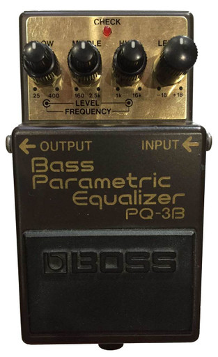 boss pq 3b parametric equalizer guitar village. Black Bedroom Furniture Sets. Home Design Ideas