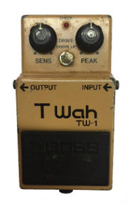 Boss TW1 Touch Wah electric guitar pedal