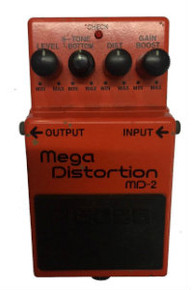 Boss MD2 Mega Distortion Guitar Pedal