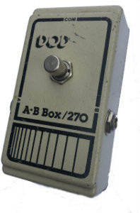 DOD AB Box 270 early 80's Pedal