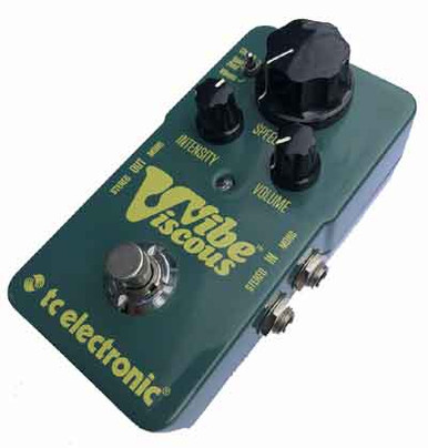 TC Electronics Viscous Vibe Electric Guitar Pedal