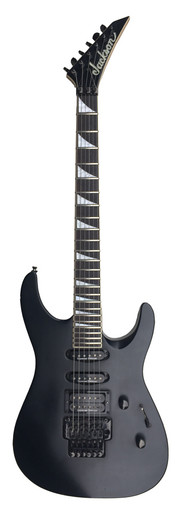 Jackson DK1 Japanese Electric Guitar Matte Black