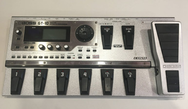 Boss GT10 Guitar Multi Effects Processor