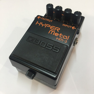 Boss HM3 Hyper Metal Effects Pedal