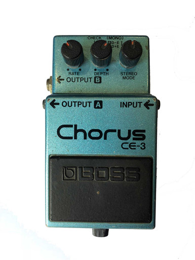 Boss Chorus Effect Pedal CE3 CE-3 Made in Japan