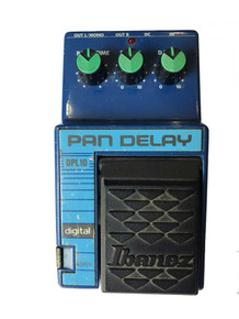 Ibanez DPL10 Pan Delay Guitar Effects Pedal Made in Japan 1990-93