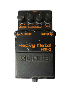 Boss HM-2 Heavy Metal Distortion Pedal Made in Japan 1983