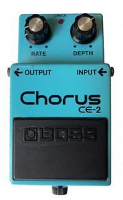 Boss CE-2 Chorus Effects Pedal Made in Japan 1987