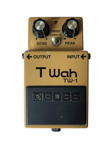 Boss TW-1 Touch Wah Effects Pedal Made in Japan 1988