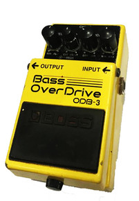 Boss OBD-3 Bass Overdrive Effects Pedal