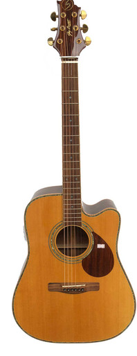 Greg Bennet Semi Acoustic Guitar all Solid Woods ASDMCE