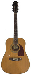 Epiphone DR212 12 String Acoustic Electric Guitar, with LR Baggs Element Pick Up