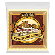 Ernie Ball Earthwood Light 12-String 80/20 Bronze Acoustic Guitar Strings, 9-46 Gauge