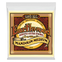 Ernie Ball Earthwood Mandolin Medium Loop End 80/20 Bronze Acoustic Guitar String, 10-36 Gauge
