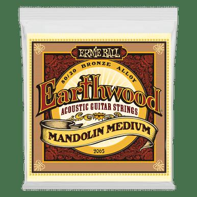 Ernie Ball Earthwood Mandolin Medium Loop End 80/20 Bronze Acoustic Guitar String, 10-36 Gauge