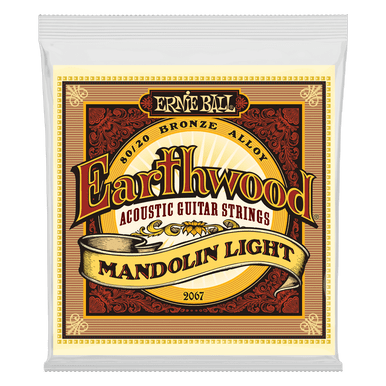 Ernie Ball Earthwood Mandolin Light Loop End 80/20 Bronze Acoustic Guitar String, 9-34 Gauge