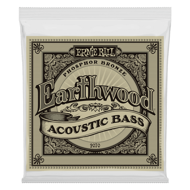 Ernie Ball Earthwood Phosphor Bronze Acoustic Bass String, 45-95 Gauge