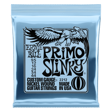 Ernie Ball Primo Slinky Nickel Wound Electric Guitar Strings, 9.5-44 Gauge