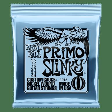 Ernie Ball Primo Slinky Nickel Wound Electric Guitar Strings, 9.5-44 Gauge