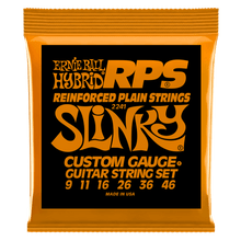 Ernie Ball Hybrid Slinky RPS Nickel Wound Electric Guitar Strings, 9-46 Gauge