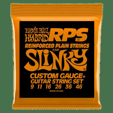 Ernie Ball Hybrid Slinky RPS Nickel Wound Electric Guitar Strings, 9-46 Gauge